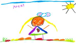 Avery Nesbitt, 5 years old, Senior Kindergarten, Roberta Bondar Public School