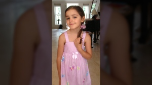 Layla Sabry, 9, is seen in this photo provided by police.