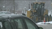 Widespread problems on the roads as the overnight
