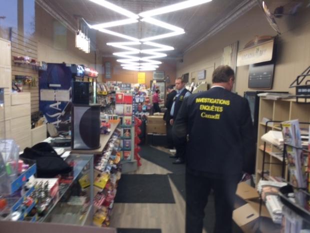 RCMP raid Glebe Smoke Shop