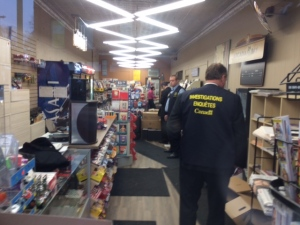 RCMP raid Glebe Smoke Shop