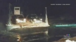 Residents stuck after ferry breaks down