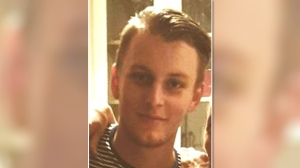"Missing 21-year-old Peter Slattery is described as a Caucasian male, 5'11"" (180cm), thin build with short dark hair."