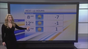 CTV Morning Live Weather Jan 16