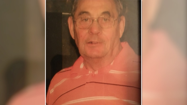 """76-year-old Francis Ronald Billings is described as a white male, 5'8""""-5'10"""" tall, 190 lbs, with mostly grey hair with traces of black. He was last seen wearing a black waist length leather coat, 2 tone blue knitted sweater and a camouflage baseball cap. (Smiths Falls Police Handout)"""
