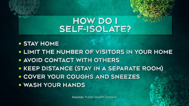 How do I self-isolate?