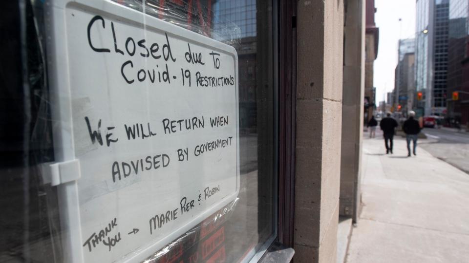 Closed over COVID-19