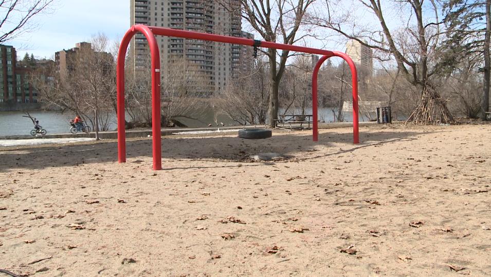 Empty playground Ottawa
