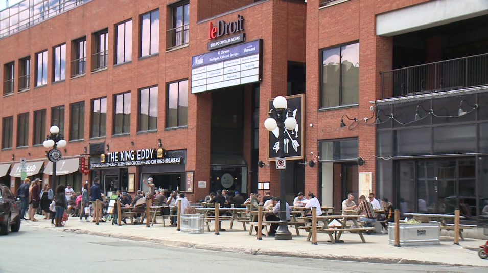 Patio on Sidewalk Ottawa