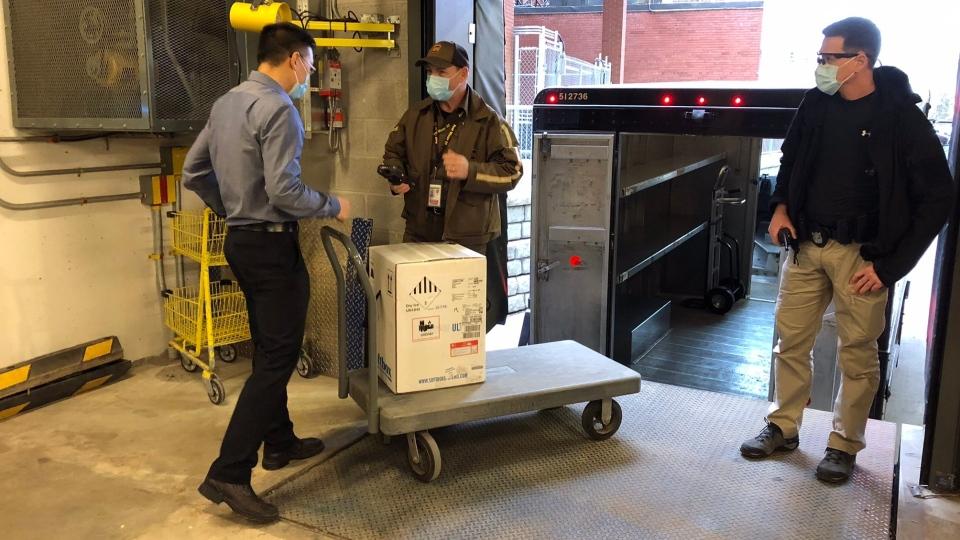 COVID-19 vaccines arrive at Ottawa Hospital