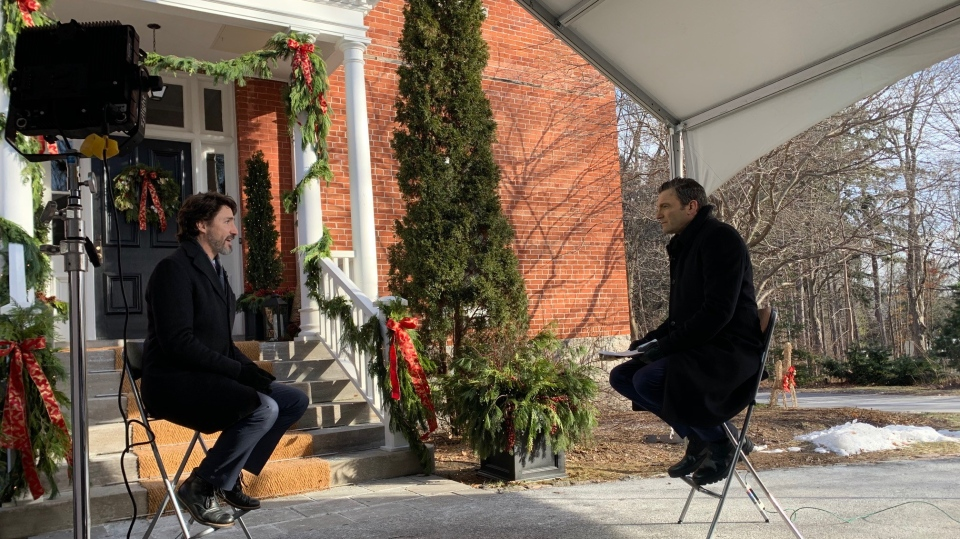 Justin Trudeau, Evan Solomon