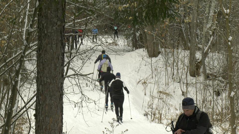 Musim dingin di Ottawa