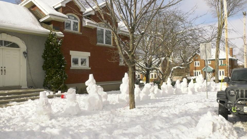 McComb's snowmen