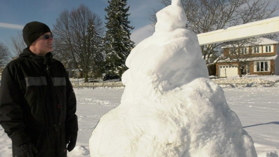 Jayson Ambrose snow Buddha