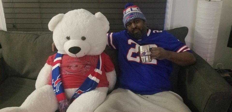 Buffalo Bills fans in Ottawa