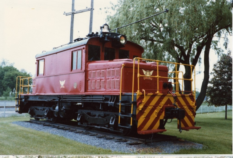 Locomotive 17 in Cornwall