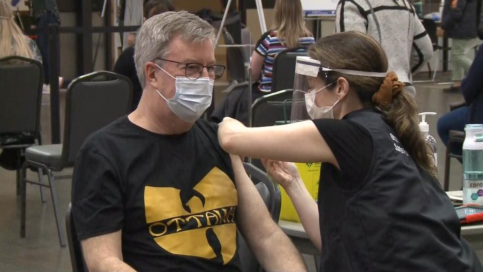 Jim Watson vaccinated