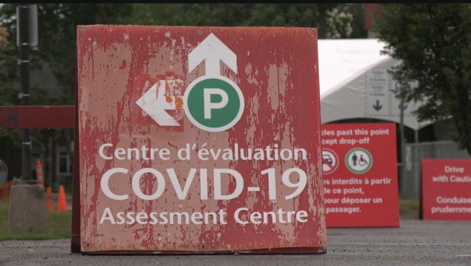 COVID-19 testing centre Ottawa