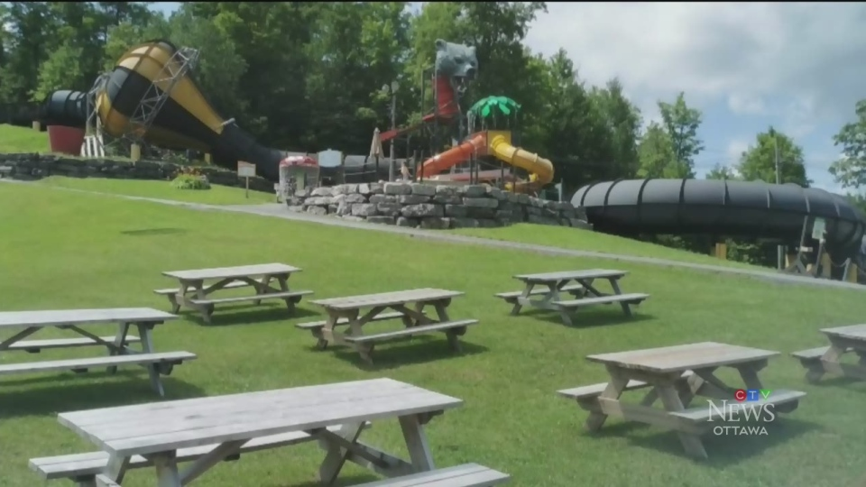 Mont Cascades waterpark evacuated