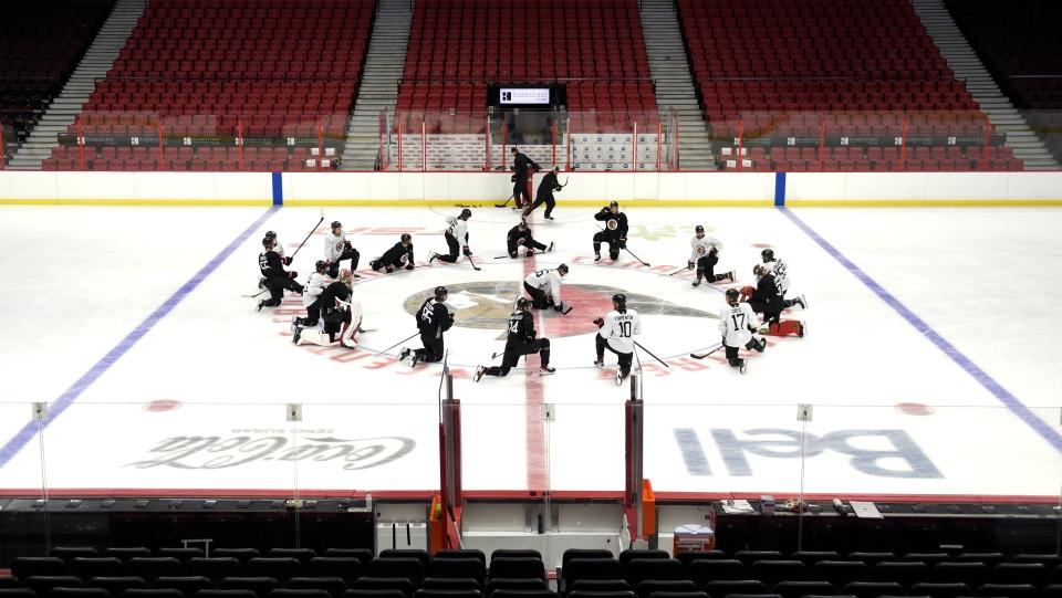 Ottawa Senators training camp in Ottawa
