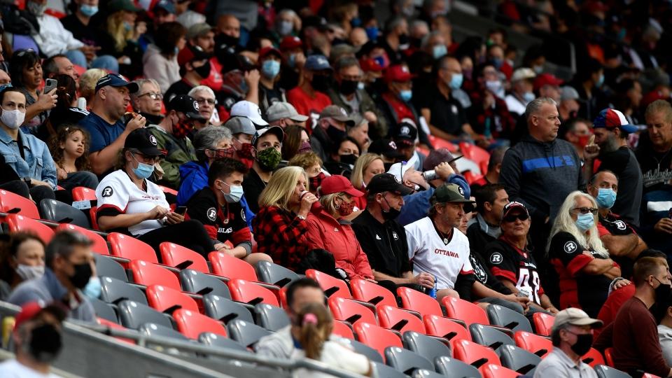 Ottawa Redblacks fans
