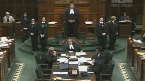 Progressive Conservative MPPs Randy Hillier and Bill Murdoch staged a two-day sit-in at the Ontario legislature to protest a lack of public hearings on the HST.