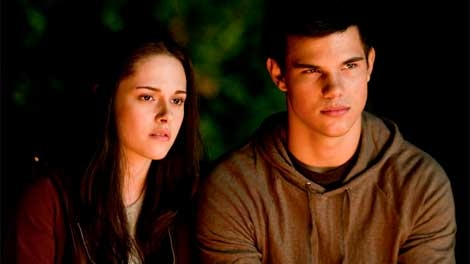 Kristen Stewart and Taylor Lautner in 'Eclipse.' (Summit Entertainment)