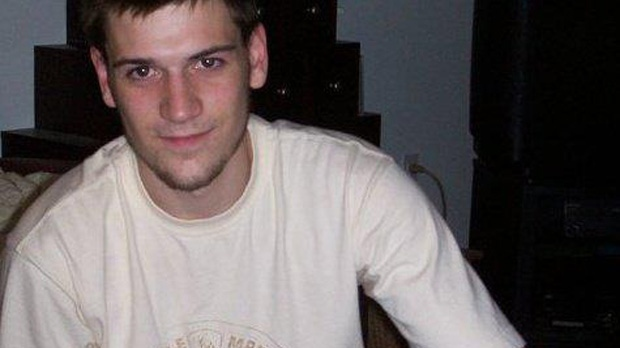 The body of 24-year-old Joey Faubert was found in a grassy area near a St. Isidore school Saturday, June 30, 2012.