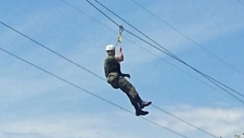 Zipline Photo 3-Monday, July 9, 2012