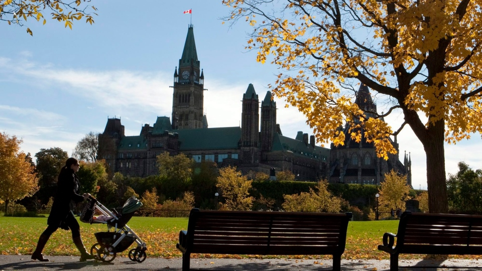 Fall day in Ottawa