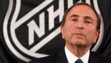 NHL commissioner Gary Bettman
