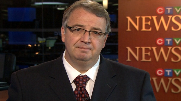 Dan McTeague, Liberal MP for Pickering-Scarborough East, speaks with CTV News from studios in Toronto, Friday, Sept. 24, 2010.